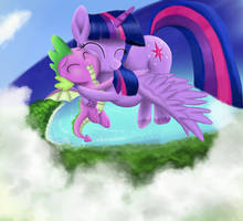 On The Wings Of Our Hearts by GreenBrothersArt