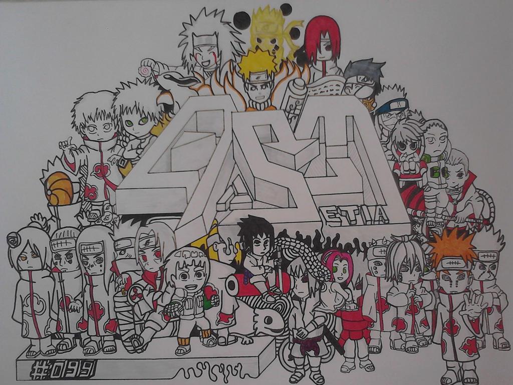 Doodle Naruto