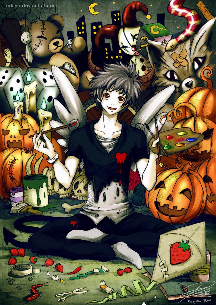 Happy Halloween by raditya