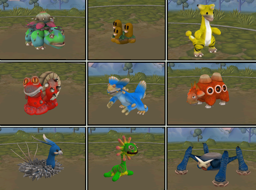 Spore Pokemon by Cosworth40