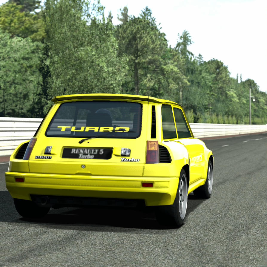 Renault R5 Turbo: GT5 By Cosworth40 On DeviantArt