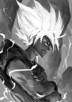 Super Saiyan Goku by just1ce1