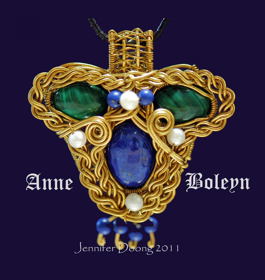 Lady Anne Boleyn Pendant by MorrighanGW