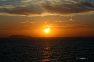 Sunset on the Mediterranean I