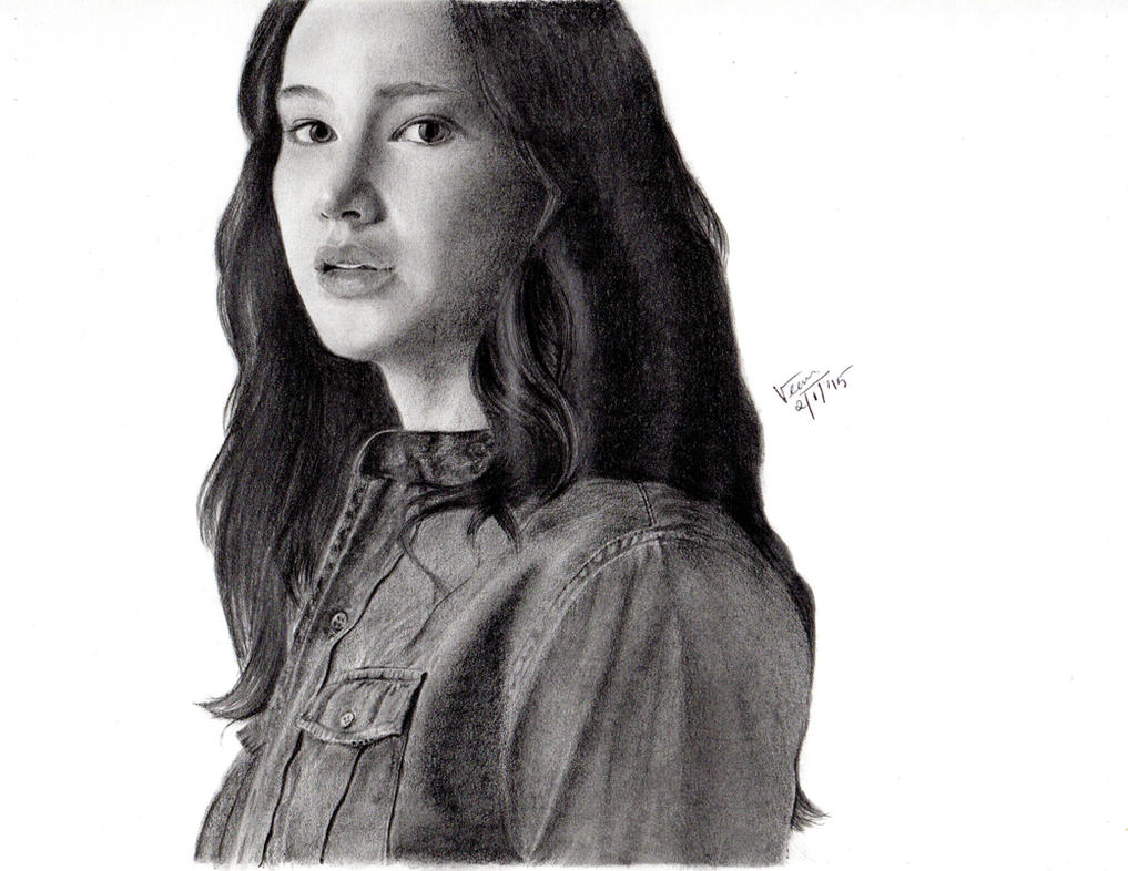 Katniss Everdeen by violet2424
