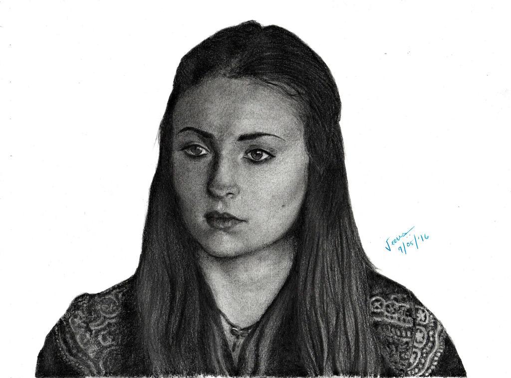 Sansa Stark by violet2424