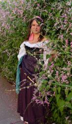 The Gypsy Esmeralda by Nuitari-winter-night