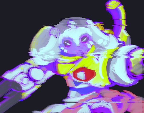 Hacked Orisa by IrisCat666