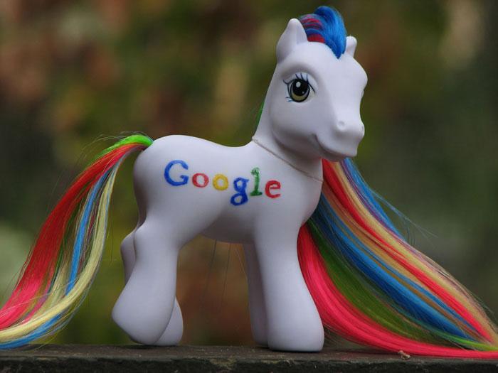 Google Pony by kaikaku
