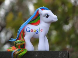 Alternate Pose Google Pony by kaikaku