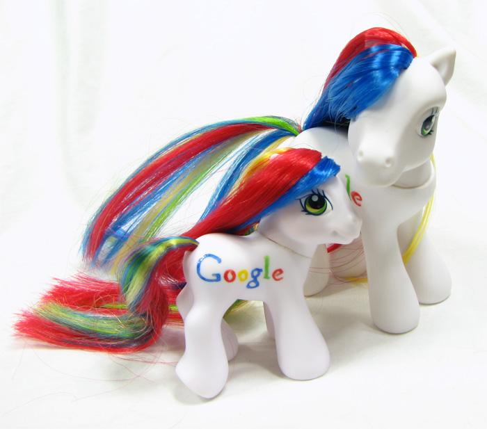 Google Baby Pony by kaikaku