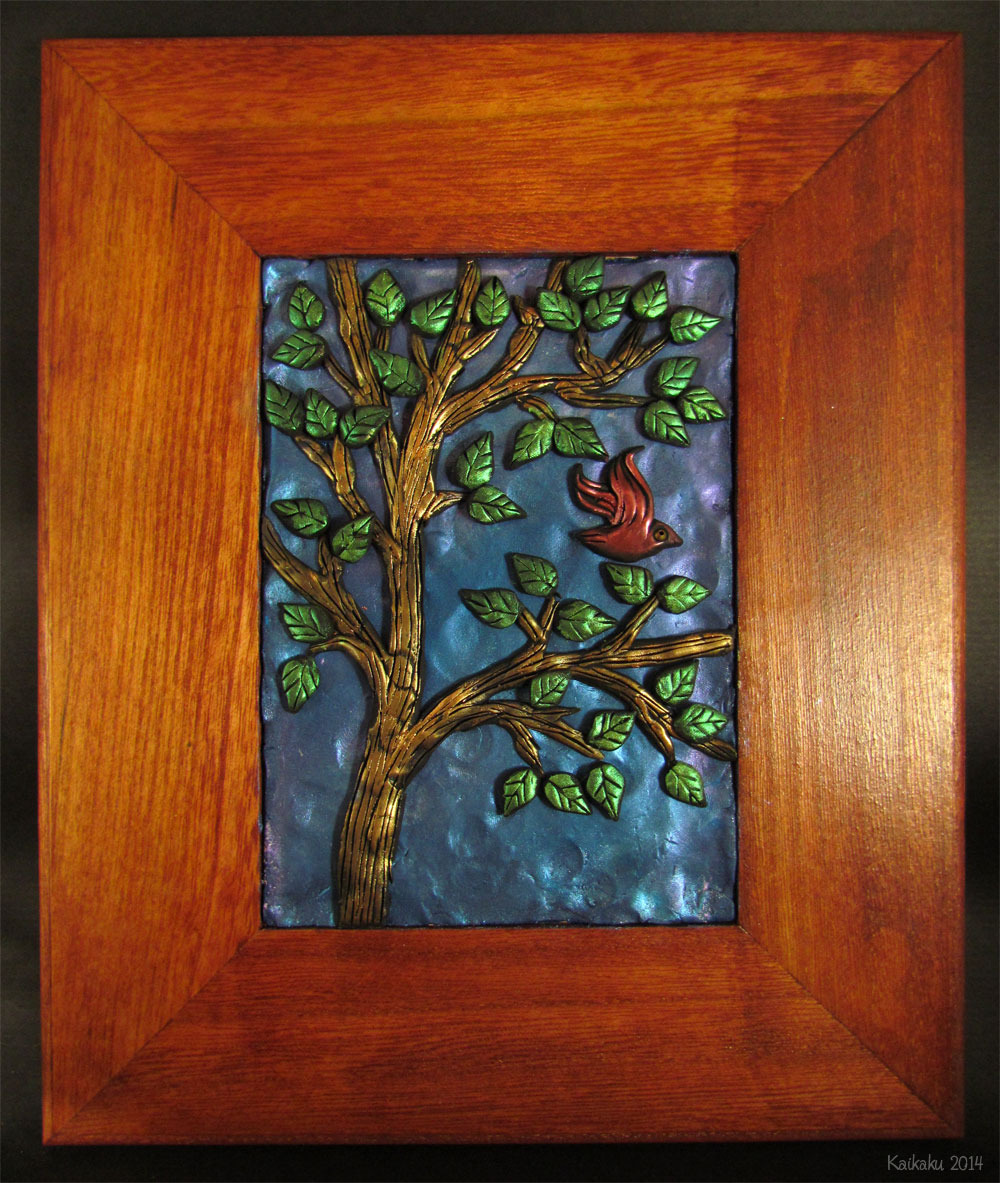 Wall Decor With Clay : Cardinal tree by kaikaku viantart on deviantart