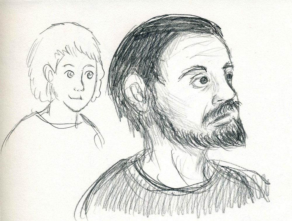 Everyday practice doodles by kaikaku