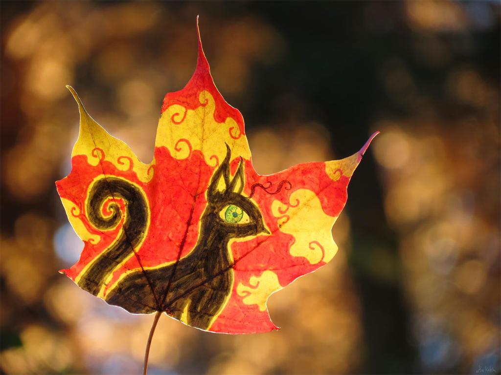 Penumbra Leaf by kaikaku