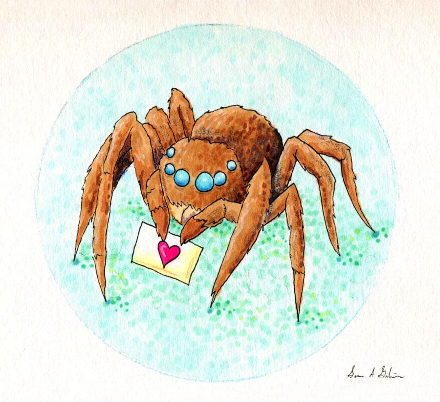 Spider Loves You by kaikaku