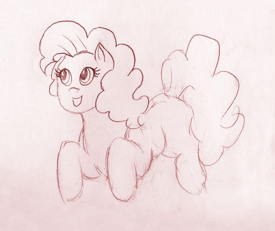 Pinkie Sketch by kaikaku