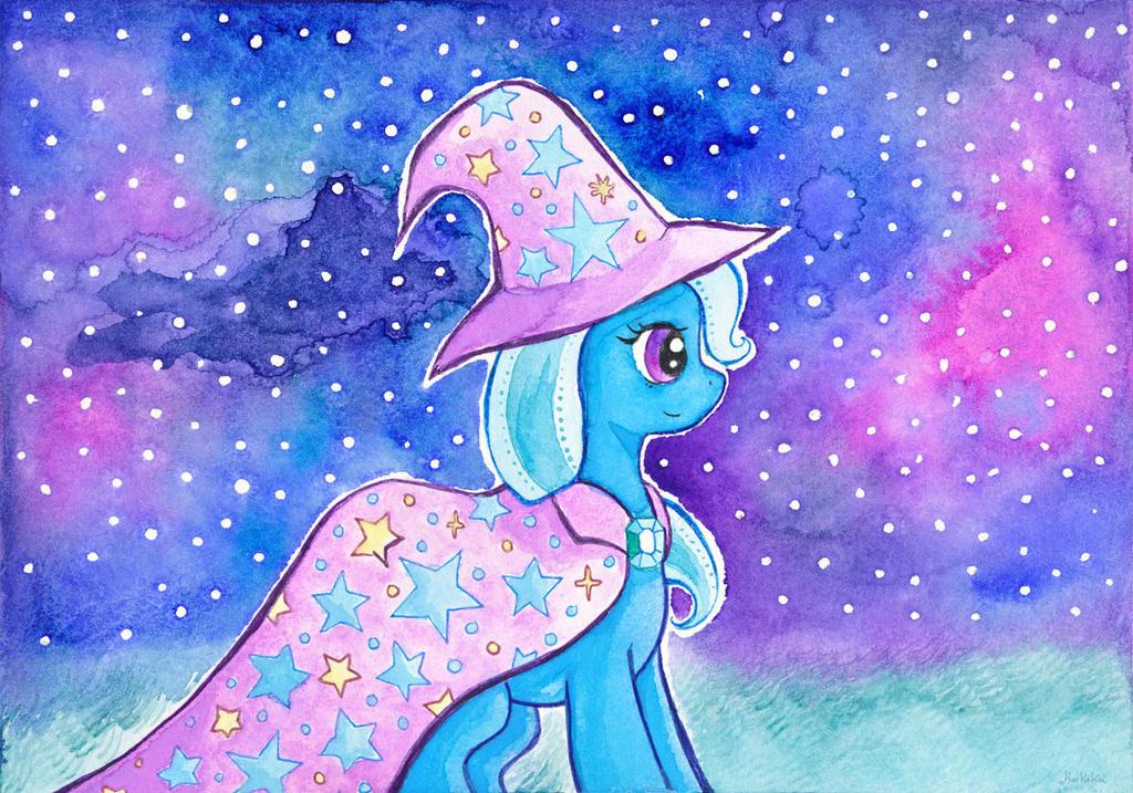 The Great and Powerful Trixie by kaikaku