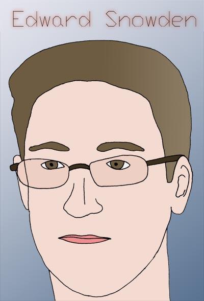 Edward Snowden by neromike