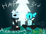 Happy 3rd Anniversary JSaB!!