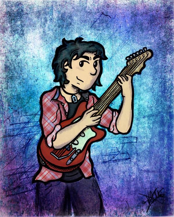 My favourite Rockstar by inzanita