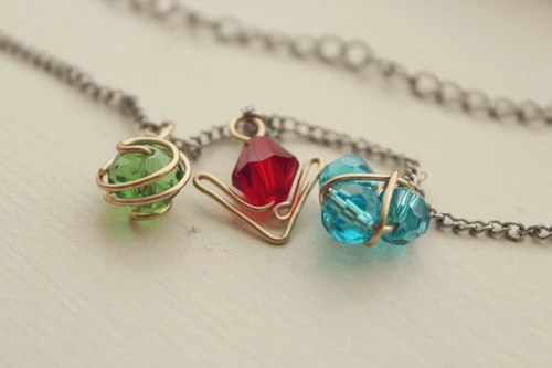 Spiritual Stones Necklace. by Yelyac