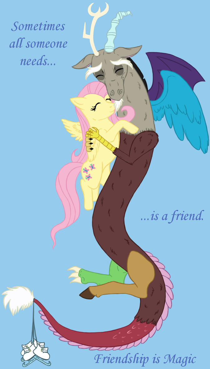 Baby Discord And Fluttershy The gallery for...