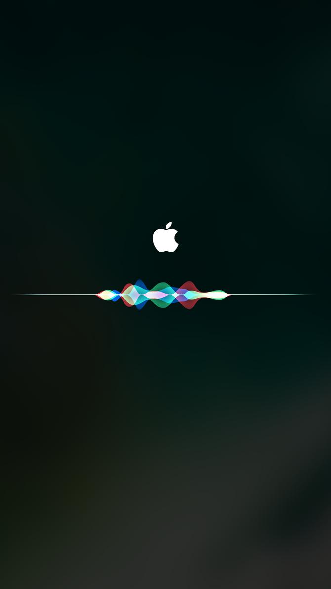IOS10 With Siri Wallpapers IPhone AppleLogo Unzip By Shinjimac