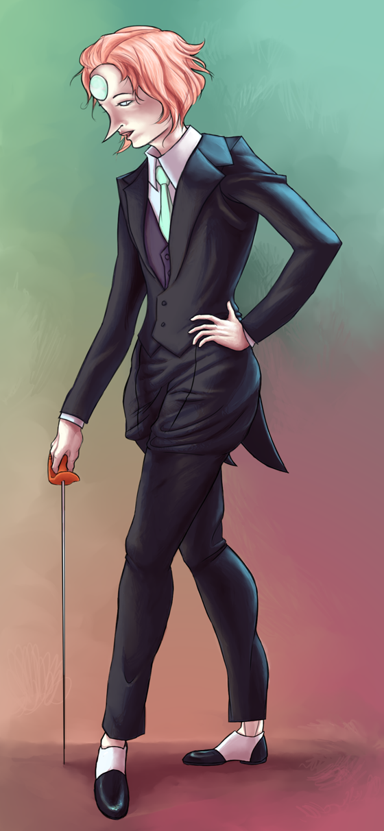 Pearl Suited Up by atomicqueen