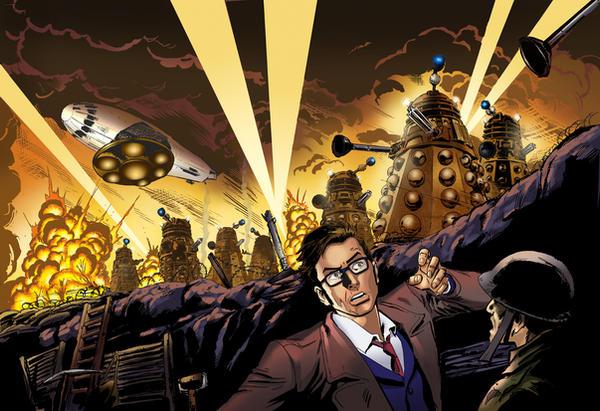 Doctor Who vs Daleks