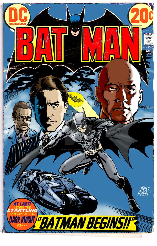 Batman Begins In 1972 by mikecollins