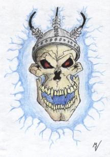 Shocking death tattoo