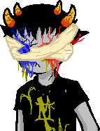 Whatthefuckstuck Talksprite: Sollux 2 by Leafjelly
