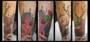 Heaven and Hell Lower Sleeve