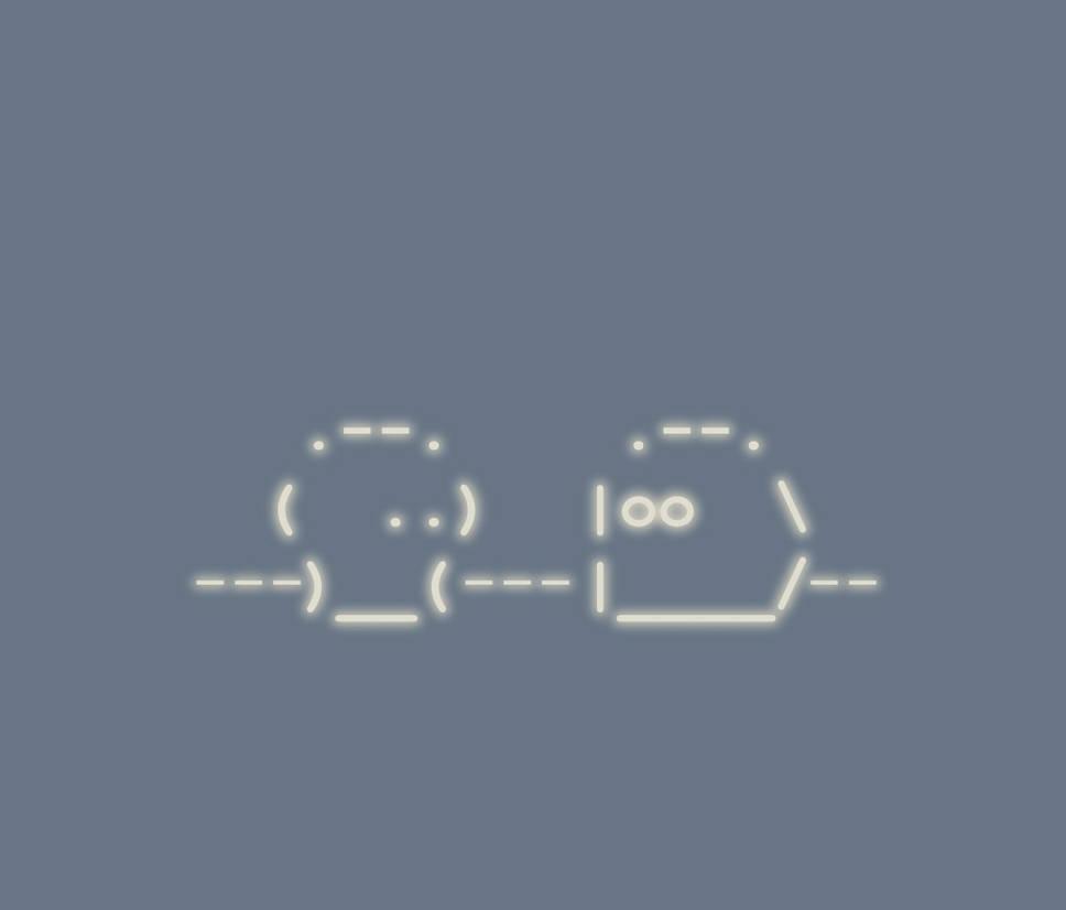 Simple ASCII-Art Wallpaper    by ethaewyn on DeviantArt