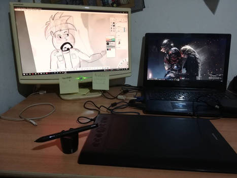Drawing Time #15 and new tablet