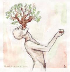 an oak in my mouth by meandermind