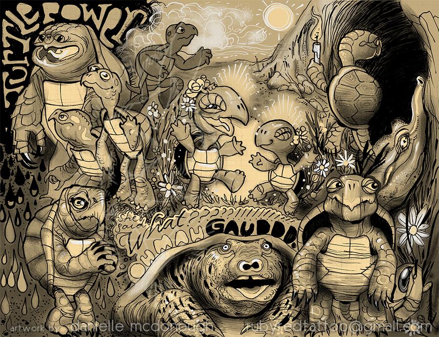 turtle people by koanodan