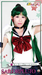 Sailor Pluto Trading Card by miwitch