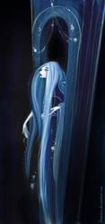 Rapunzel at Night - print update by Blumina