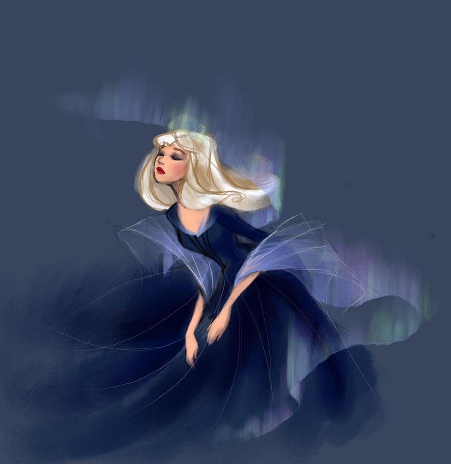 aurora sketch by Blumina