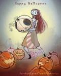 halloween king's head!