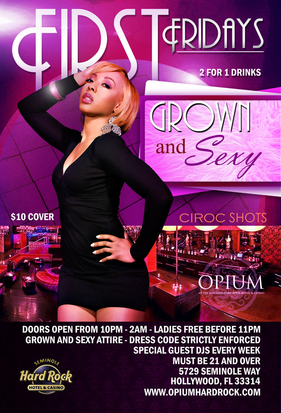 Opium Night Club Flyer by dallenups on DeviantArt – Night Club Flyer