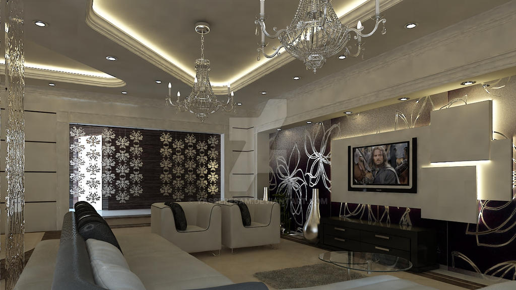 Living room by yasseresam