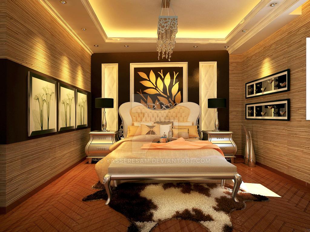 Master Bedroom Interior By Yasseresam On Deviantart