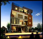 Apartment Exterior Design by yasseresam