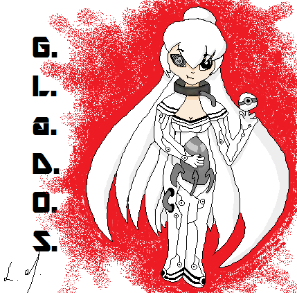 Glados By Luckymangaka On Deviantart
