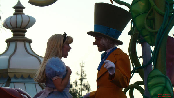 Hatter and Alice by dreamer20k