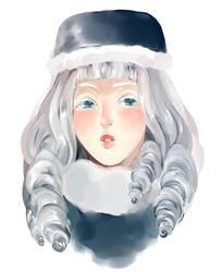 Snow-borne by akiaue