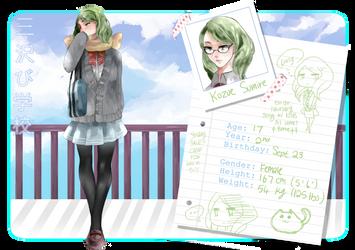 Misawabi High - Kozue Sumire by akiaue