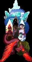 AA - Jewel-bright by akiaue